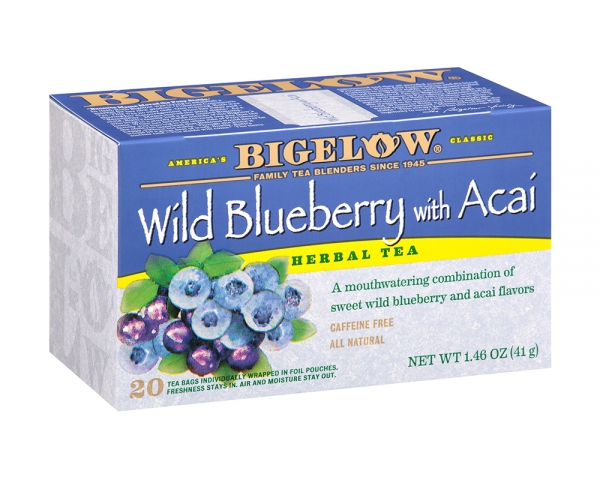 Bigelow Tea Wild Blueberry with Acai
